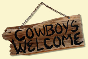 Cowboys Welcome